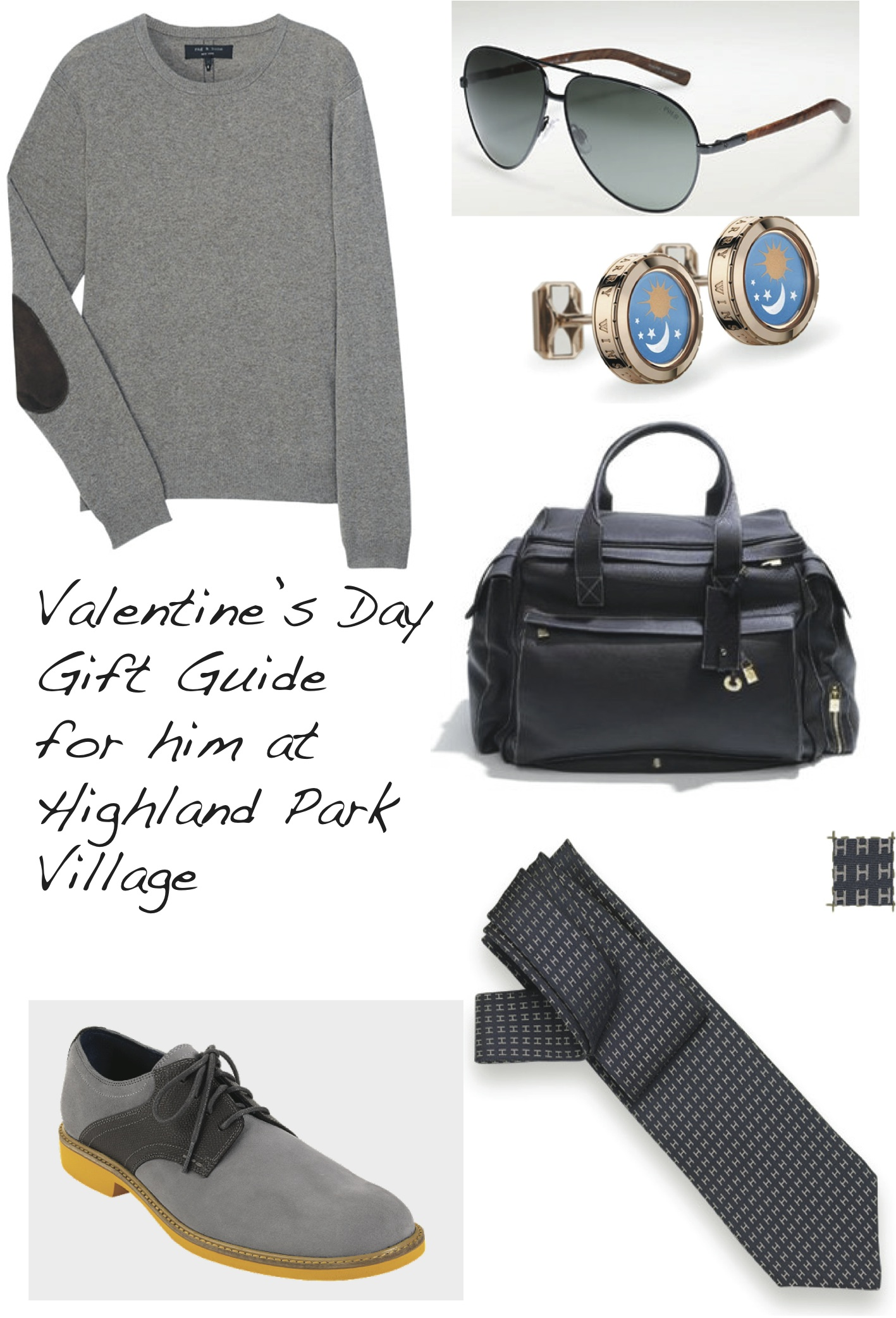 Valentine's Day Gift Guide for Him at Highland Park Village