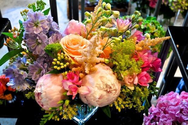 4. avant garden floral bouquet