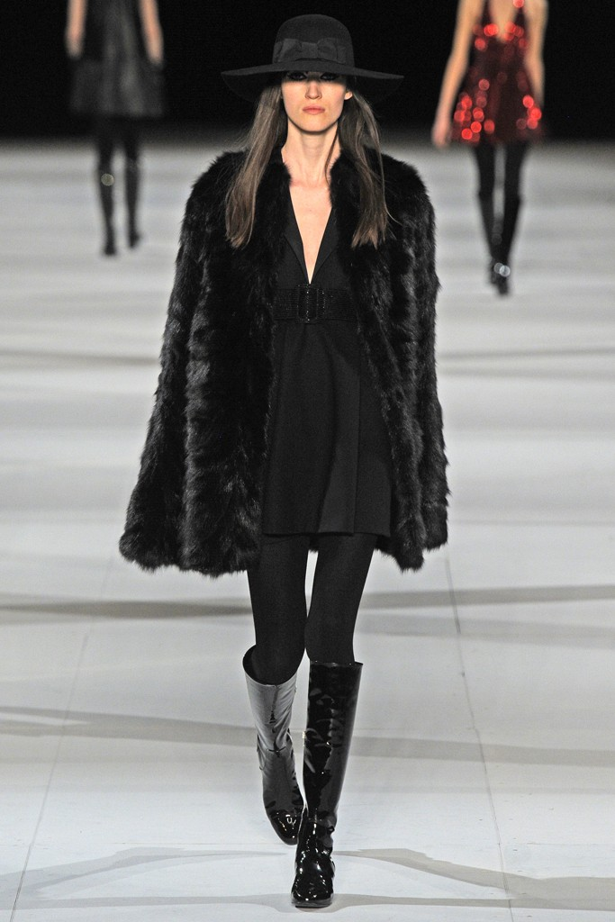 3. saint laurent fall 2014