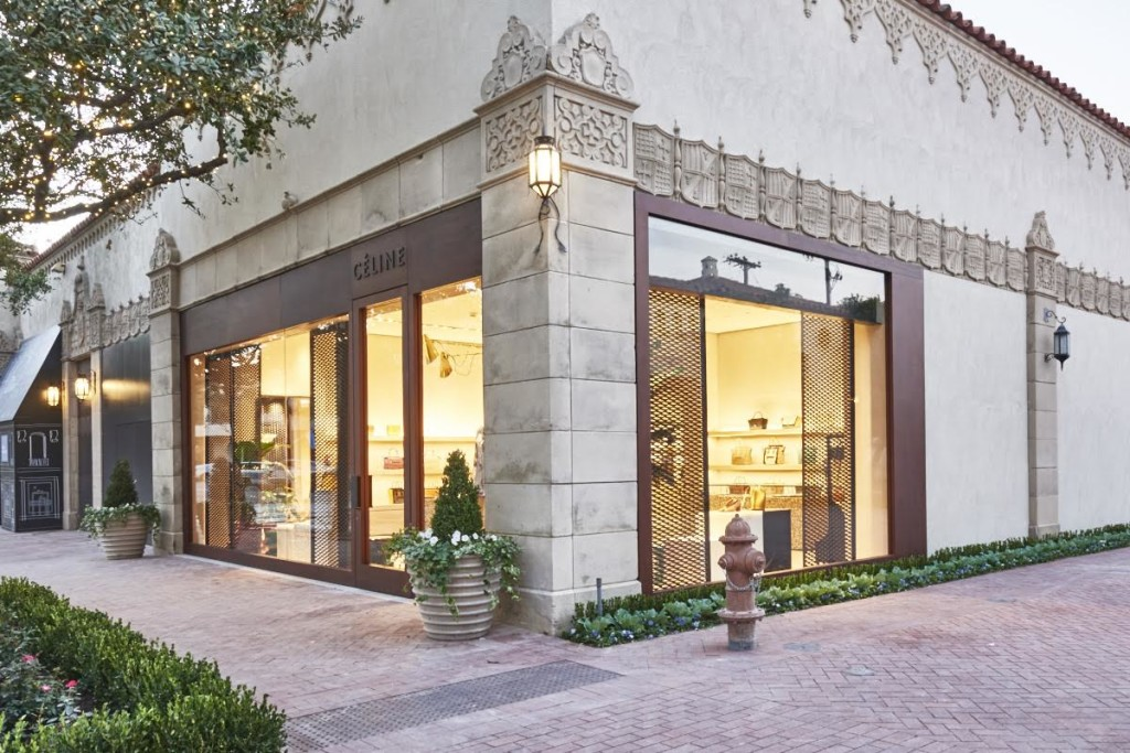 celine highland park village dallas