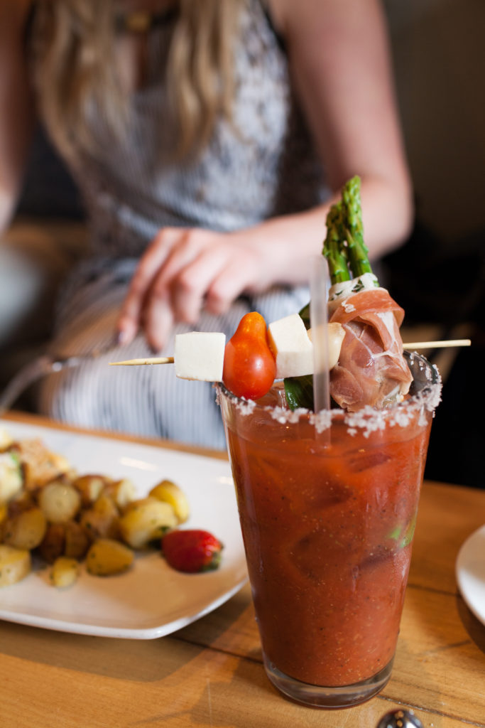 Customize your Bloody Mary with meats, cheeses and veggies from the Bloody Mary Bar at Lounge 31.